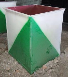 Мусоросборники 0,8 куб. м. (до 0,2 тн) и 1 куб. м. (до 0,36 тн)
